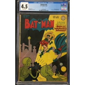 Batman (1940) #41 CGC 4.5 Penguin app 1st Batman Sci-Fi cover  (2019703010)