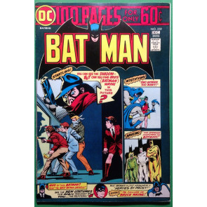 BATMAN (1940) #259 VF- (7.5) 100 page spectacular Shadow cover
