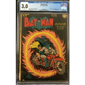 Batman (1940) #25 CGC 3.0 only Joker/Penguin team-up in Golden Age (2019703003)