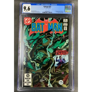 Batman (1940) #357 CGC 9.6 White 1st app Jason Todd & Killer Croc (3804932001)