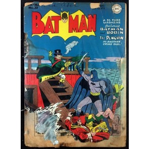 Batman (1940) #43 PR (.05) with Robin Penguin cover reader copy