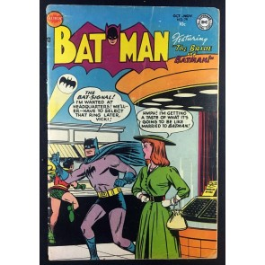 Batman (1940) #79 VG- (3.5) Vicki Vale Bride of Batman