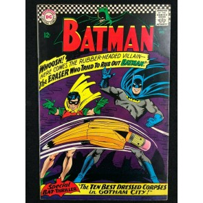 Batman (1940) #188 VF- (7.5) Eraser