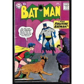 Batman (1940) #123 VG/FN (5.0) with Robin and Bat-Hound