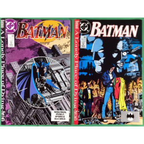 Batman (1940) 440 441 442 + Teen Titans 60 61 complete Lonely Place of Dying set