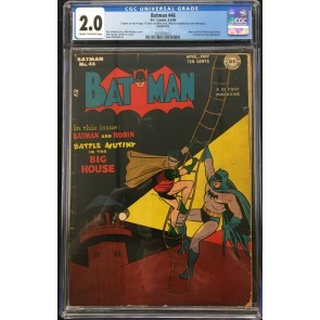 Batman (1940) #46 CGC 2.0 Joker and Prof. Nichols appearance (2019703012)