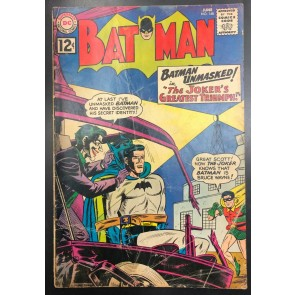 Batman (1940) #148 GD (2.0) and Robin Joker cover and Story
