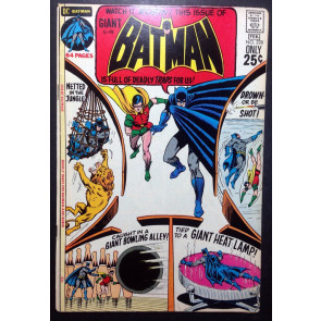 BATMAN (1940) #228 FN (6.0) (G-79) giant