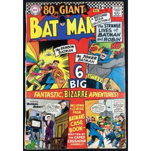 Batman (1940) #182 VG+ (4.5) and Robin 80 Page Giant