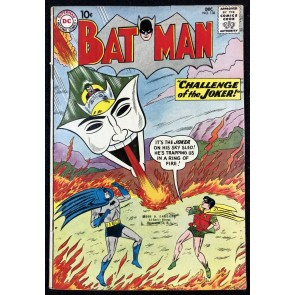 Batman (1940) #136 VG/FN (5.0) and Robin Joker cover