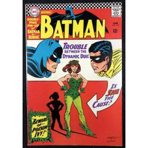 Batman (1940) #181 Qualified FN- (5.5) 1st app Poison Ivy