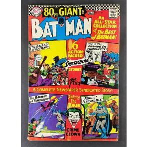Batman (1940) #187 FN- (5.5) 80pg Giant G-30 Joker