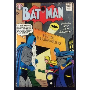 Batman (1940) #119 VG- (3.5) with Robin