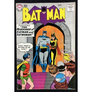 Batman (1940) #122 VG/FN (5.0) Batwoman cover