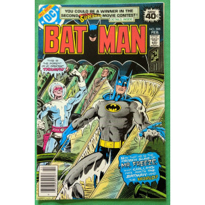 BATMAN (1940) #308 NM (9.4)  -vs- Mr. Freeze