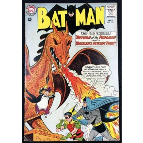 Batman (1940) #155 VG (4.0) 1st app Penguin in Silver Age