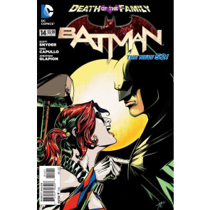 Batman (2011) #14 VF/NM 1:25 Harley Quinn Variant Cover The New 52!