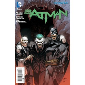 Batman (2011) #40 VF/NM-NM 1:25 Andy Kubert Variant Cover The New 52!