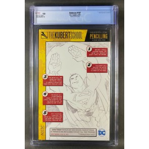 Batman (2016) #107 CGC 9.8 Graded White Pages Sketch Variant Cover (3824804018)