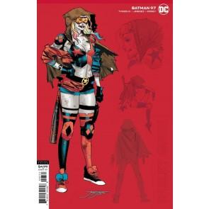 Batman (2016) #97 VF/NM 1:25 Harley Quinn Jorge Jimenez Variant Cover