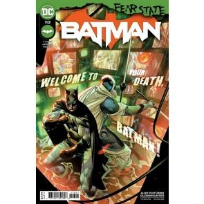 "Batman (2016) #113 VF/NM Jorge Jimenez Cover ""Fear State"""