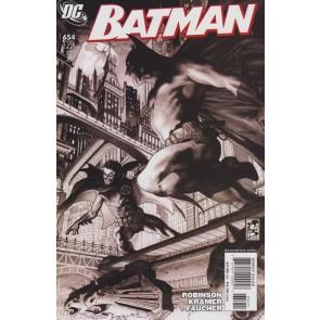 BATMAN #654 VF/NM SIMONE BIANCHI BATMAN & ROBIN COVER