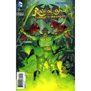 Batman and Robin (2011) #23.3 VF/NM-NM Lenticular Variant Cover The New 52