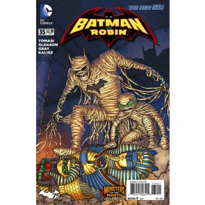 Batman and Robin (2011) #35 VF/NM-NM Monsters of the Month Variant Cover