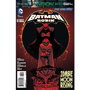 BATMAN AND ROBIN (2011) #13 VF+ THE NEW 52!