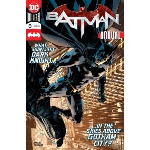 Batman Annual (2018) #3 VF/NM Bryan Hitch Cover