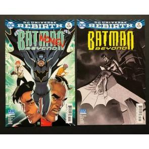 Batman Beyond (2016) #12 VF+ Bernard  & Dave Johnson Regular & Variant Set