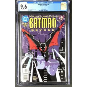 Batman Beyond (1999) #1 CGC 9.6 1st app (0297294023)