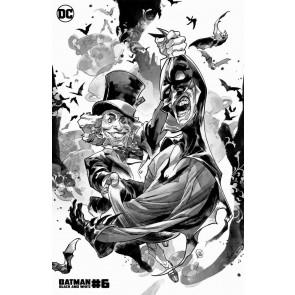 Batman Black & White (2021) #6 VF/NM Putri Villain Variant Cover (Mad Hatter)