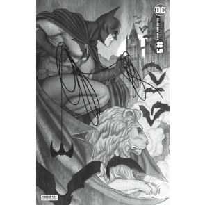 Batman Black & White (2021) #5 VF/NM Jenny Frison Variant Cover