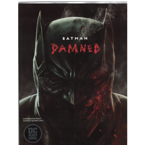 Batman Damned (2018) #1 NM (9.4) Advanced Readers Copy out of print