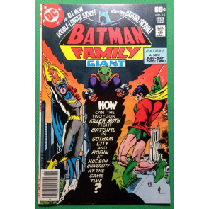 Batman Family (1975) #15 VF/NM (9.0) featuring Batgirl & Robin