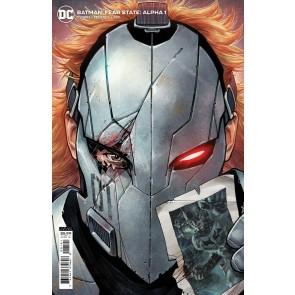 Batman: Fear State: Alpha (2021) #1 VF/NM Dylan Teague Variant Cover One-Shot
