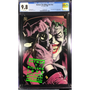 Batman Killing Joke (1988) CGC 9.8 white classic Alan Moore story (2009097008)