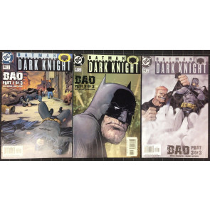 Batman Legends of the Dark Knight (1989) #146 147 148 complete Bad story