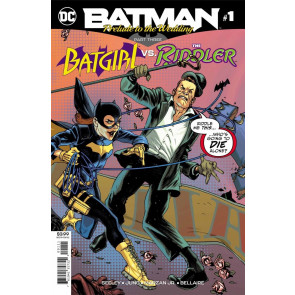 Batman Prelude to the Wedding Batgirl vs Riddler #1 VF/NM (9.0) Part 3