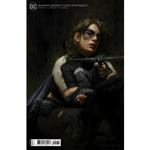 Batman Secret Files: Huntress (2021) #1 VF/NM 1:25 Irvin Rodriguez Variant Cover