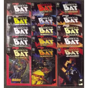 BATMAN: SHADOW OF THE BAT (1992) #'s 1-94 + ANNUALS COMPLETE SET FREE SHIPPING