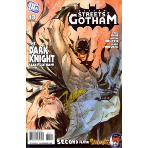 BATMAN STREETS OF GOTHAM (2009) #13 VF/NM