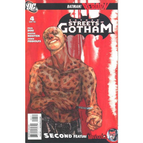 BATMAN STREETS OF GOTHAM (2009) #4 VF/NM