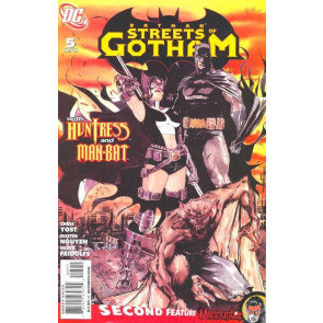 BATMAN STREETS OF GOTHAM (2009) #5 VF/NM HUNTRESS