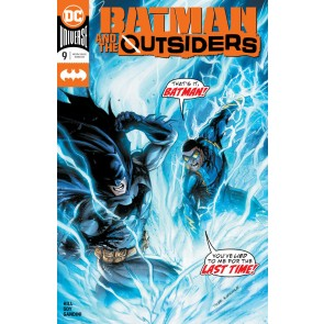 Batman & the Outsiders (2019) #9 VF/NM-NM Tyler Kirkham Cover