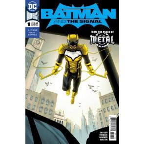 Batman & the Signal (2018) #1 VF/NM Declan Shalvey Variant Cover