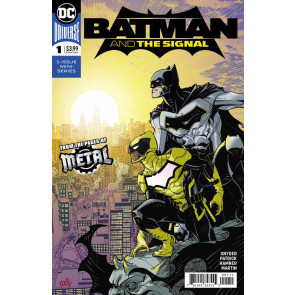 Batman & the Signal (2018) #1 of 3 VF/NM Regular cover A from the pages of Metal