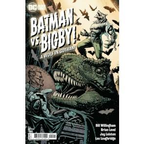 Batman vs. Bigby! A Wolf In Gotham (2021) #2 VF/NM Yanick Paquette Cover