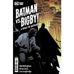 Batman vs. Bigby! A Wolf In Gotham (2021) #1 VF/NM Yanick Paquette Cover